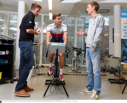 Cycling: Team OPQS Medical tests / Academy / Zdenek STYBAR (Cze) / Physical testing / Koen Pelgrim (Bel) Training / Team Omega Pharma Quick-Step (Bel)/ (c) Tim De Waele