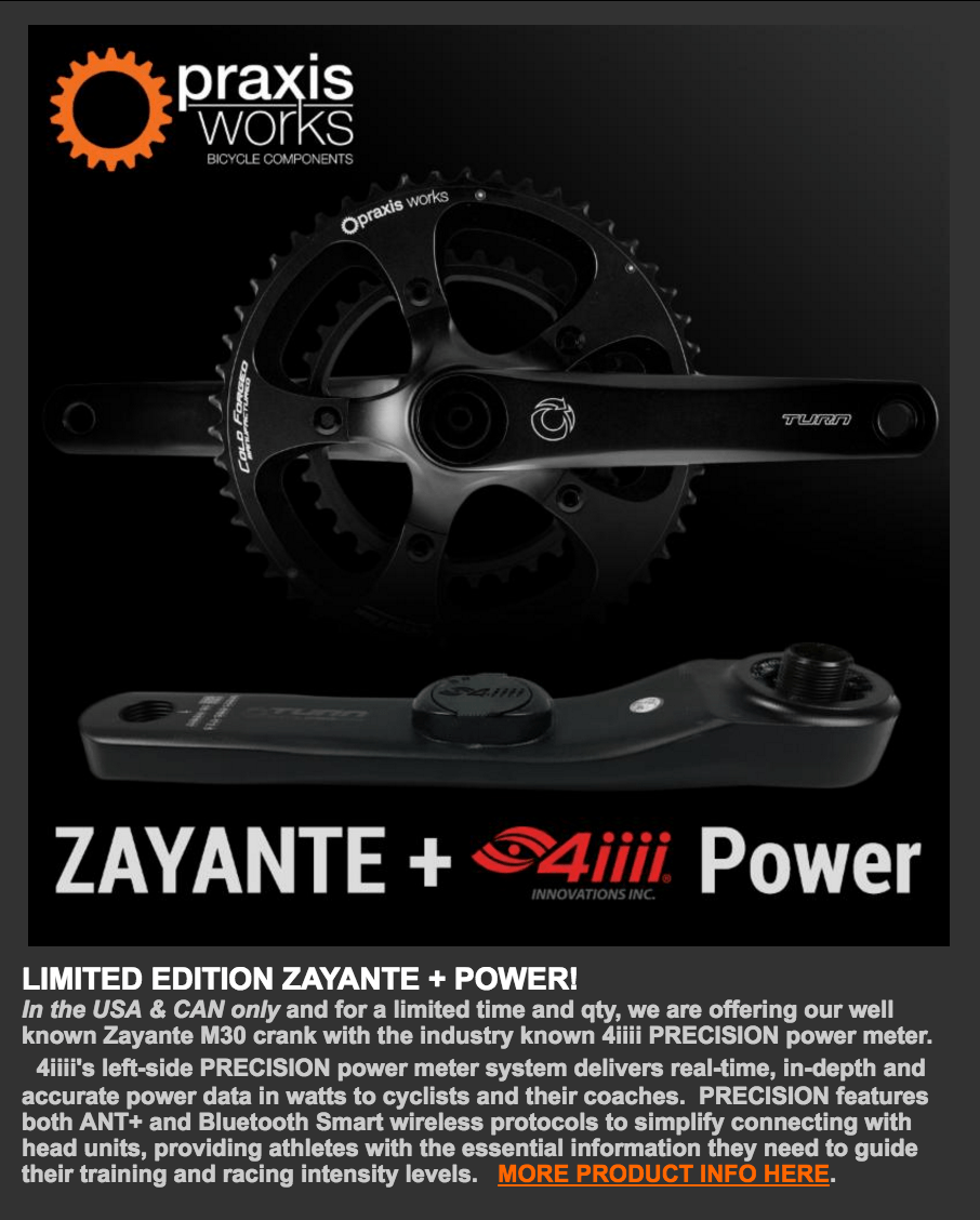 Praxis Zayante plus 4iiii Power-no prices