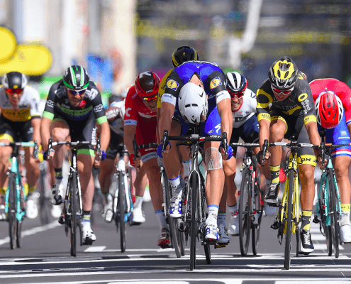 2016 Tour de France Stage 4 - Kittel wins stage in sprint