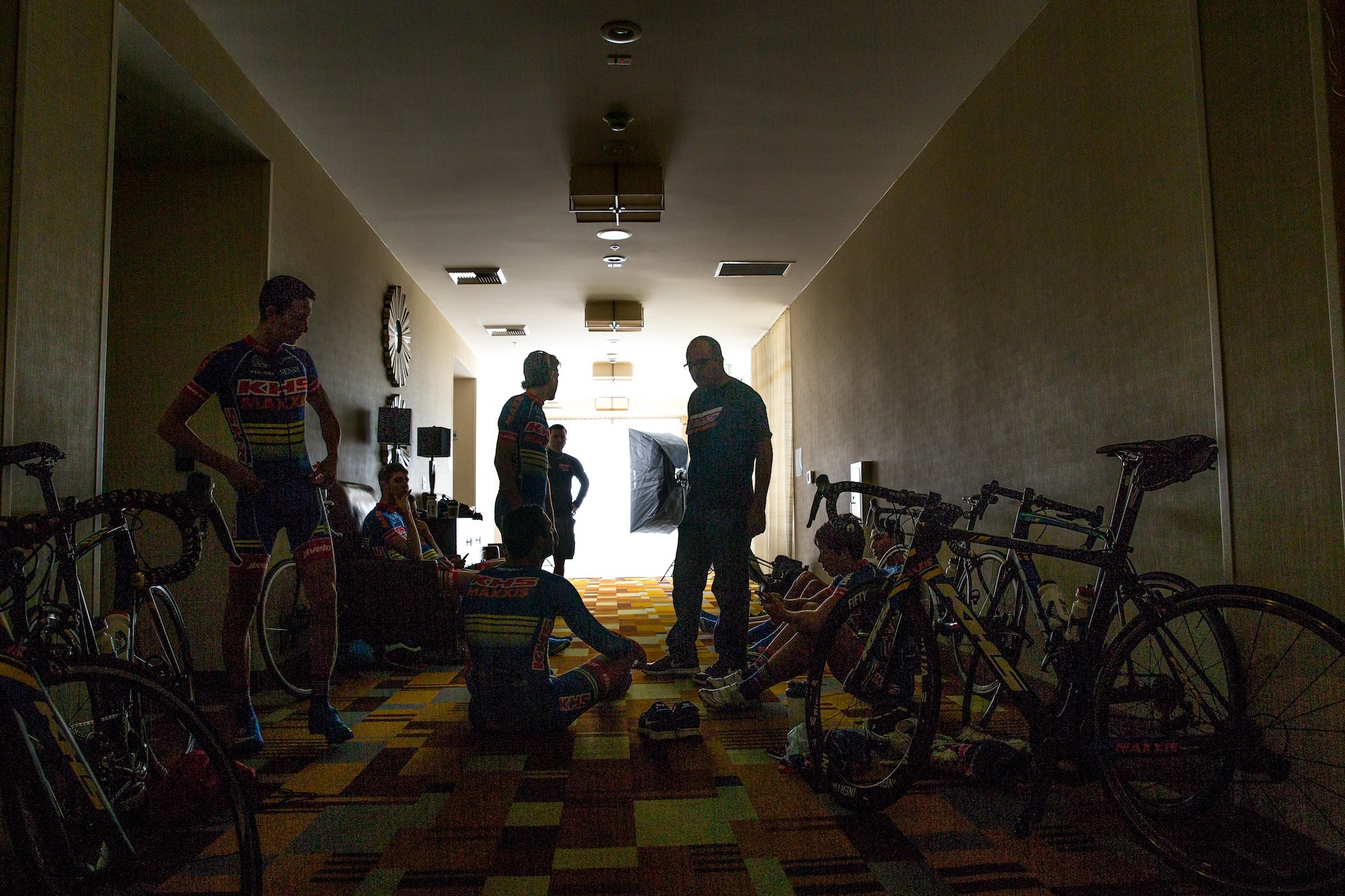 2016 KHS Maxis JLVelo team camp discussion.
