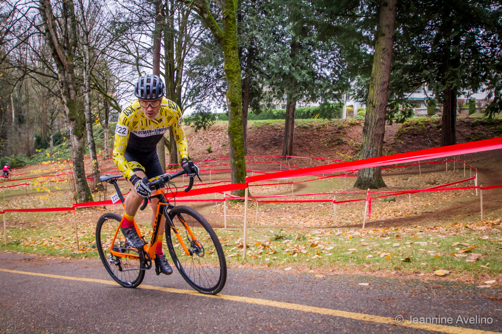 7d8b7b891 Masters  cross racer and 4iiii ambassador Jordan Behan powers up a (paved!)  climb.